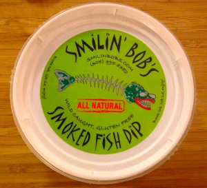 This dip certainly gets me smilin'!